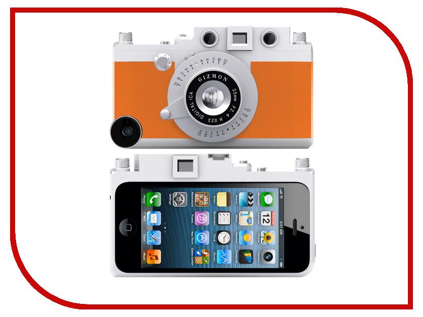 Аксессуар Кейс GIZMON iCA5 для iPhone 5 / 5S Orange 82366<br>