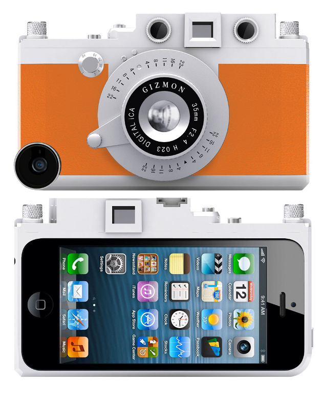 Аксессуар Кейс GIZMON iCA5 for iPhone 5 / 5S Orange 82366