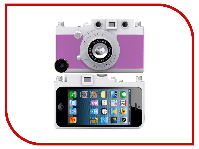 Аксессуар Кейс GIZMON iCA5 для iPhone 5 / 5S Purple 82367<br>