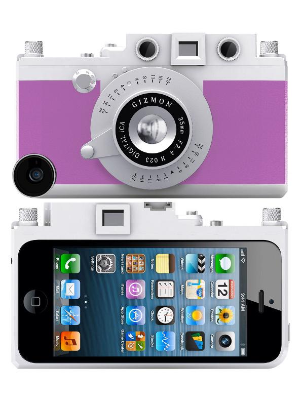 Аксессуар Кейс GIZMON iCA5 for iPhone 5 / 5S Purple 82367