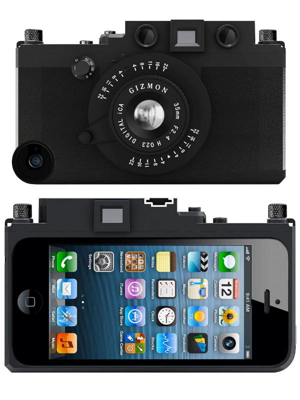 Аксессуар Кейс GIZMON iCA5 for iPhone 5 / 5S Black 82368
