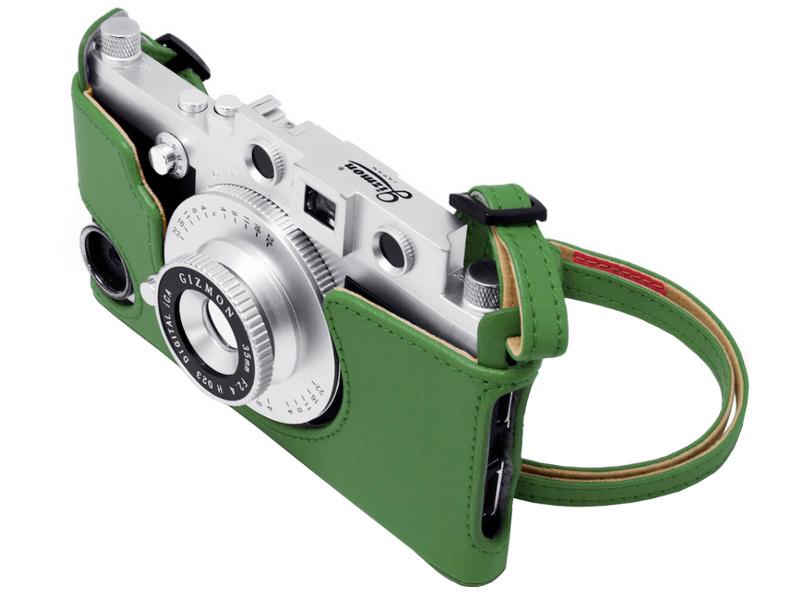 Аксессуар Сумка GIZMON iCA Case &amp; Strap for iCA5 с ремнем Green 82386<br>
