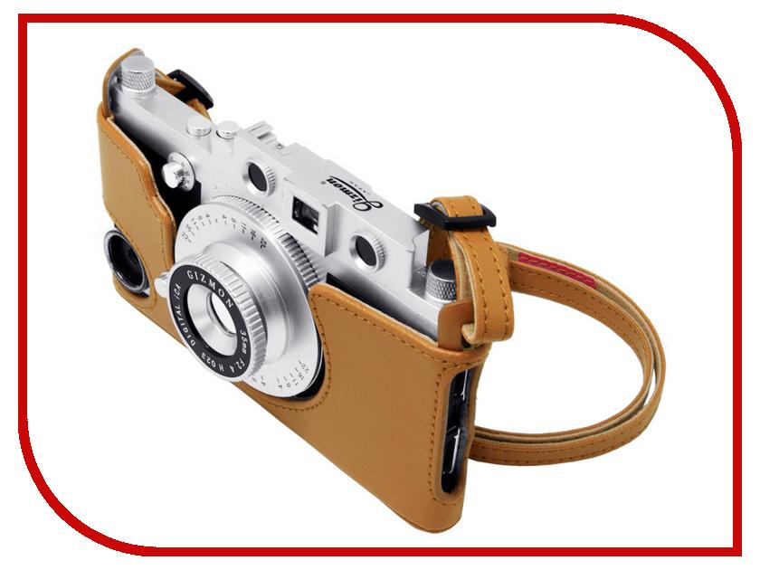 Аксессуар Сумка GIZMON iCA Case &amp; Strap for iCA5 с ремнем Brown 82384<br>