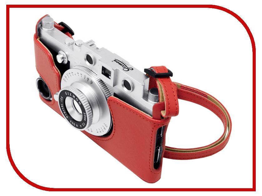 Аксессуар Сумка GIZMON iCA Case &amp; Strap for iCA5 с ремнем Red 82385<br>