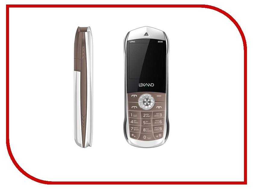 Сотовый телефон Lexand Mini LPH-1 Cofee lexand a1 basic black