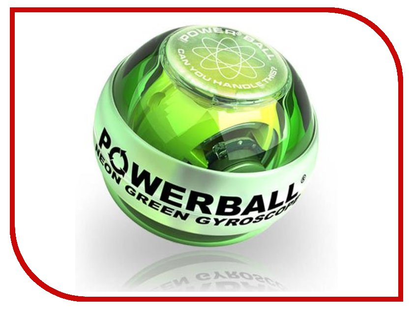 Тренажер кистевой Powerball 250 Hz Neon PB-688L Green тренажер кистевой nsd power powerball autostart multi light pro