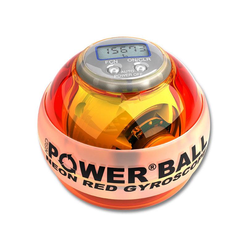 Тренажер кистевой Powerball 250 Hz Neon Pro PB-688LC Amber