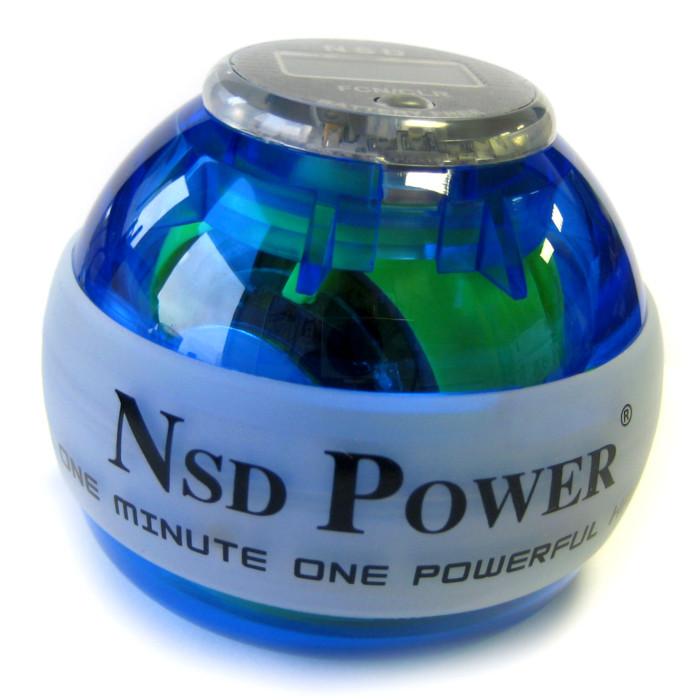 Тренажер кистевой Powerball 250 Hz Neon Pro PB-688LC Blue