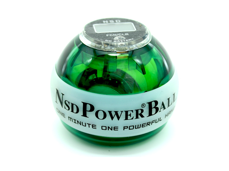 Тренажер кистевой Powerball 250 Hz Neon Pro PB-688LC Green
