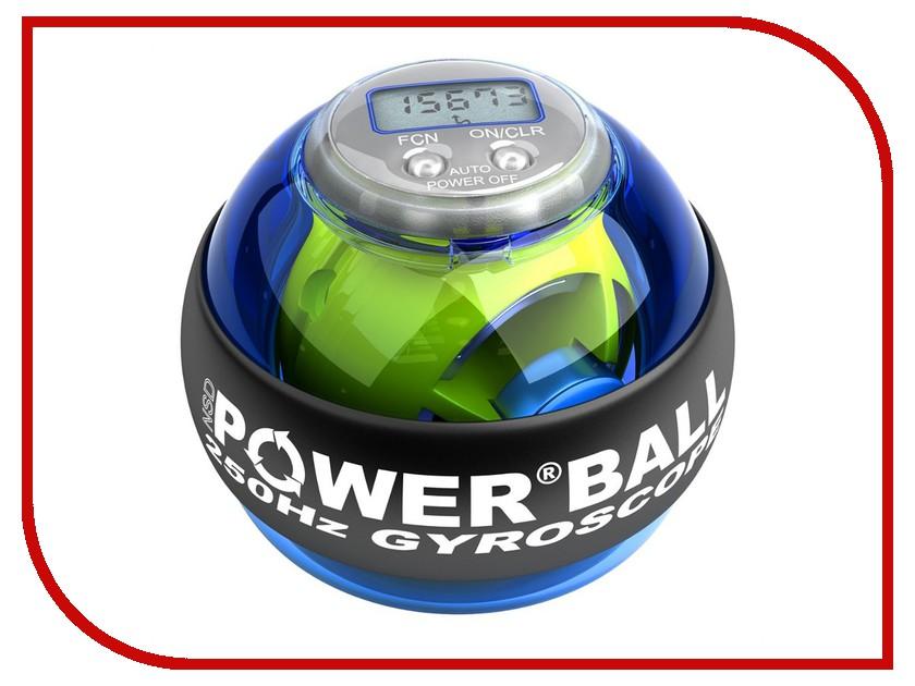 Тренажер кистевой Powerball 250 Hz Pro PB-688C Blue тренажер кистевой powerball 250 hz neon pb 688l green