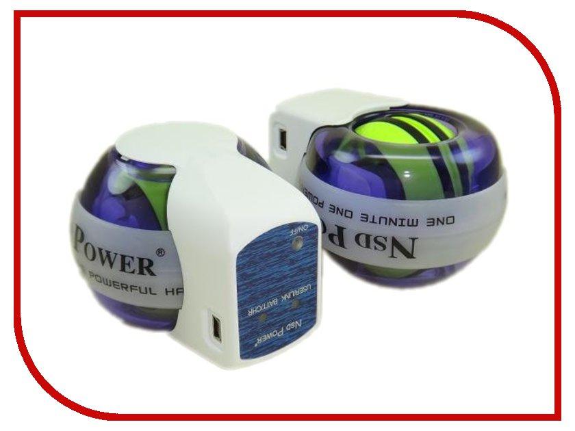 Powerball - Тренажер кистевой Powerball 250 Hz Autostart Multi Light Bluetooth PB-188AML+BT