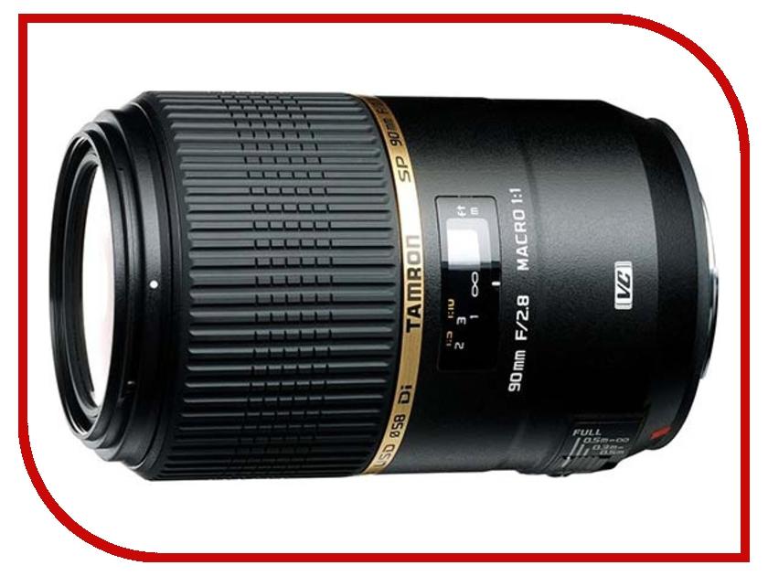Объектив Tamron SP AF 90mm f/2.8 Di VC USD Canon EF<br>