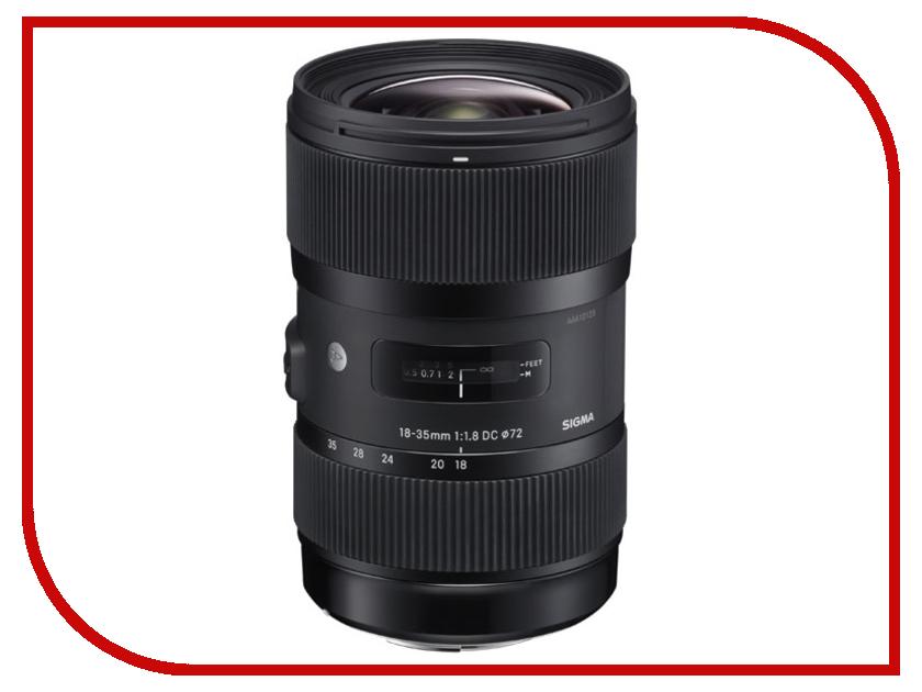 Объектив Sigma Sony / Minolta AF 18-35 mm F/1.8 DC HSM купить sigma 18 200 мм для pentax