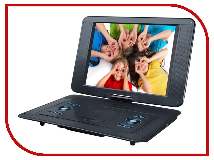 DVD плеер Rolsen RPD-15D07TBL Black