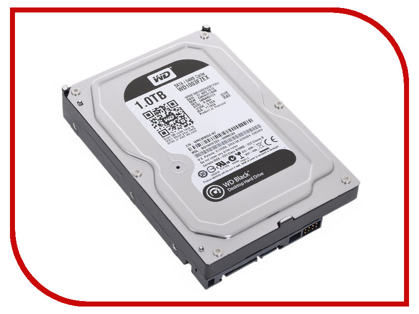 Жесткий диск 1Tb - Western Digital WD Black WD1003FZEX<br>