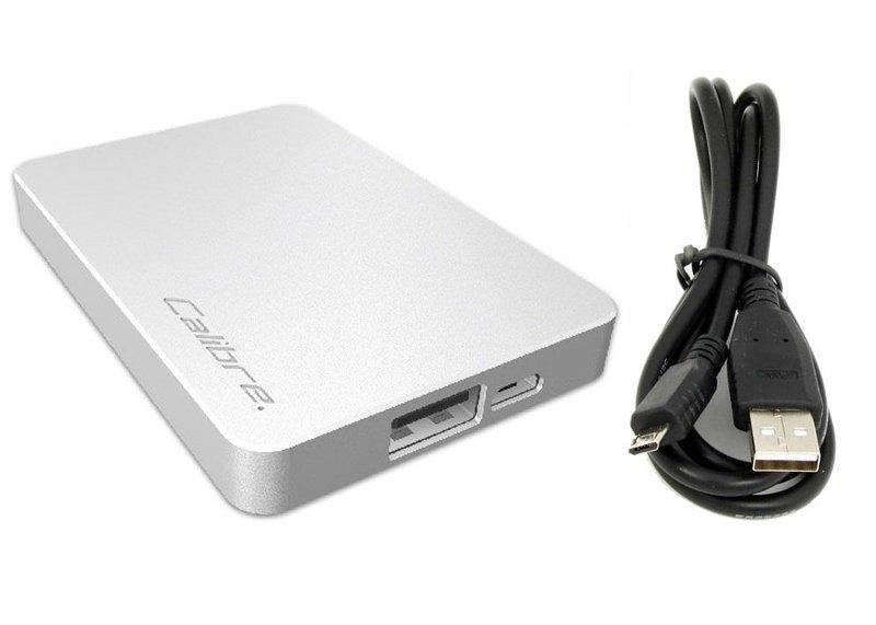 Аккумулятор Calibre Ultra Go NANO 2500 mAh Silver FUNA025S1