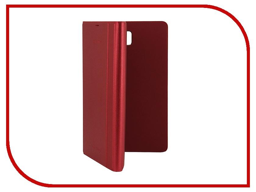 Аксессуар Чехол for Samsung Galaxy Tab S 8.4 SM-T700 / SM-T705 Book Cover EF-BT700BREGRU Red аксессуар чехол samsung galaxy j7 2017 sm j730f wallet cover gold ef wj730cfegru