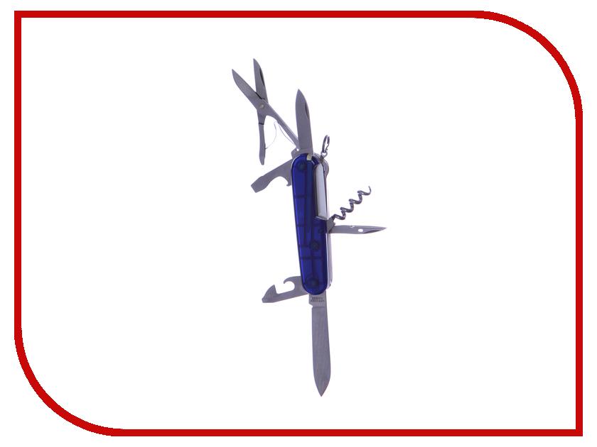 Мультитул Нож Victorinox Climber 1.3703.Т Translucent Red