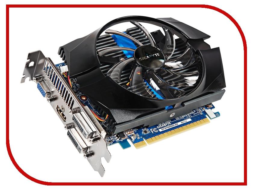 Видеокарта GigaByte GeForce GT 740 1072Mhz PCI-E 3.0 2048Mb 5000Mhz 128 bit 2xDVI HDMI HDCP GV-N740D5OC-2GI<br>