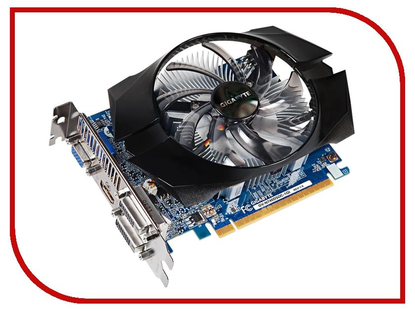 Видеокарта GigaByte GeForce GT 740 1072Mhz PCI-E 3.0 1024Mb 5000Mhz 128 bit 2xDVI HDMI HDCP GV-N740D5OC-1GI<br>
