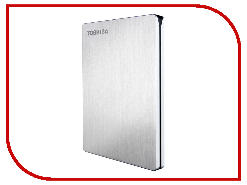 Жесткий диск Toshiba StorE Slim For Mac 500Gb USB 3.0 HDTD205ESMDA