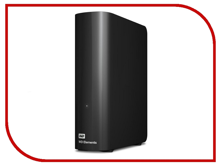 внешние HDD/SSD WDBWLG0030HBK  Жесткий диск Western Digital Elements Desktop 3Tb WDBWLG0030HBK