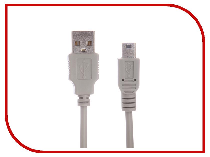 Аксессуар Gembird USB 2.0 AM-mini 5P 0.9m CC-USB2-AM5P-3 high quality omnidirectional multi line laser barcode scanner yk 8120 20 scan lines with usb2 0 free shipping for pos usb