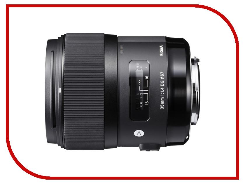 Объектив Sigma Pentax AF 35 mm F/1.4 DG HSM