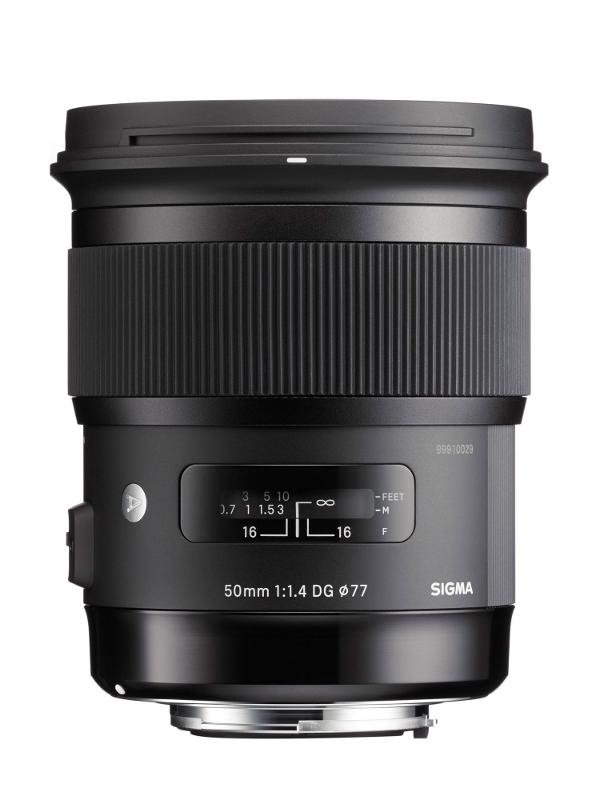 Объектив Sigma AF 50mm f/1.4 DG HSM Art Canon EF цена и фото