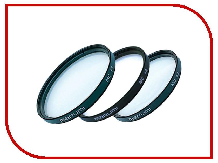 Светофильтр Marumi MC-C Set (+1, 2, 4) 62mm - набор макролинз