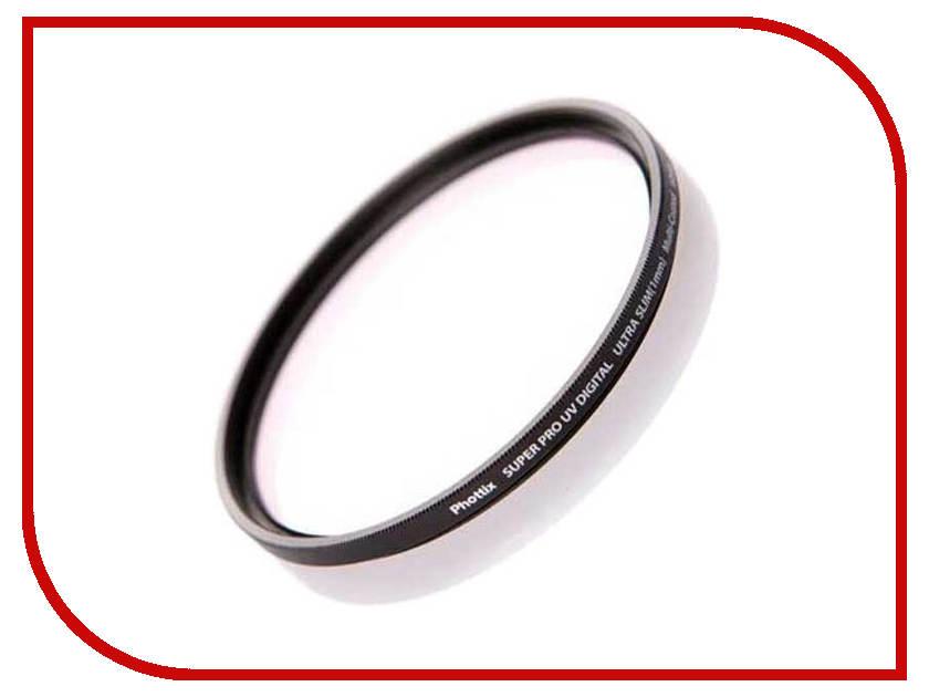 Светофильтр Phottix Ultra Slim 1mm UV 62mm