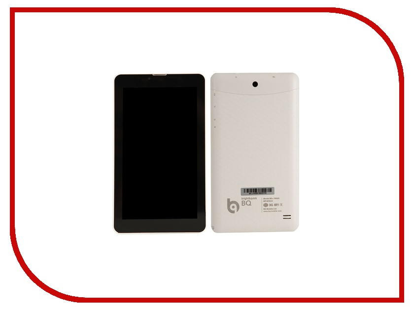 Планшет BQ 7056G White (MediaTek MT8312 1.3 GHz/512Mb/4Gb/Wi-Fi/3G/Bluetooth/Cam/7.0/1024x600/Android) планшет планшет lenovo tab 4 tb 7504x za380087ru mediatek mt8735b 1 3 ghz 2048mb 16gb gps 3g lte wi fi bluetooth cam 7 0 1280x720 android
