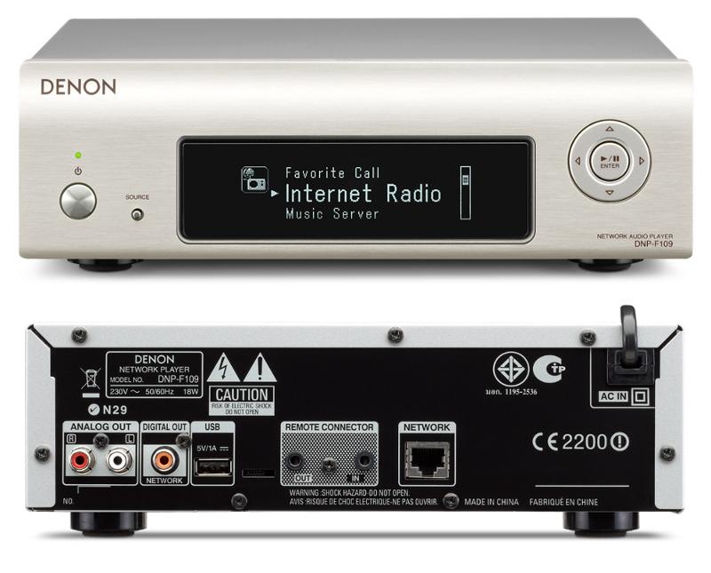 Медиаплеер Denon DNP-F109<br>