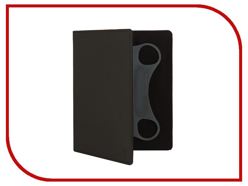 Аксессуар Чехол 9.0-inch Vivacase Basic кожаный, универсальный Black VUC-CM009bl<br>