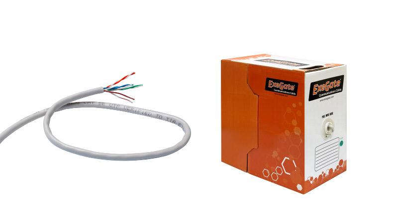 Сетевой кабель ExeGate UTP 5e CCA