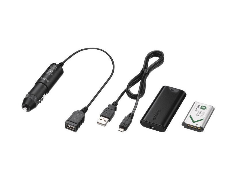 Аксессуар Sony ACC-DCBX for Action Cam - набор с автомобильным зарядным устройством