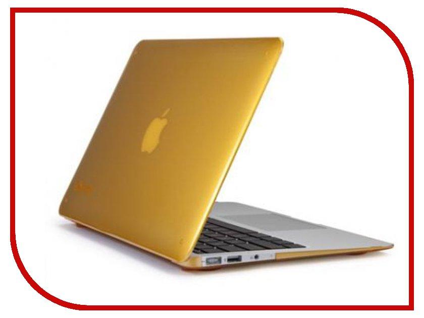 Аксессуар Чехол MacBook Pro 13 Speck SeeThru Butternut Squash SPK-A1476