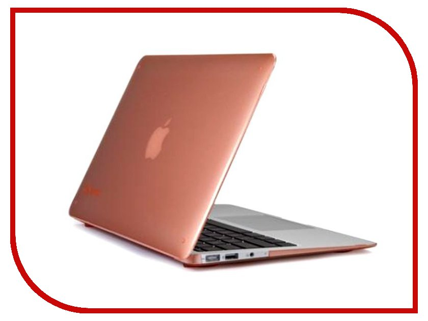 Аксессуар Чехол MacBook Air 13 Speck SeeThru Wild Salmon SPK-A1470 cl159320 citilux