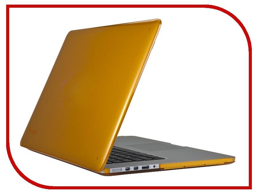 Аксессуар Чехол MacBook Pro 15 Retina Speck SeeThru Butternut Squash SPK-A1496<br>