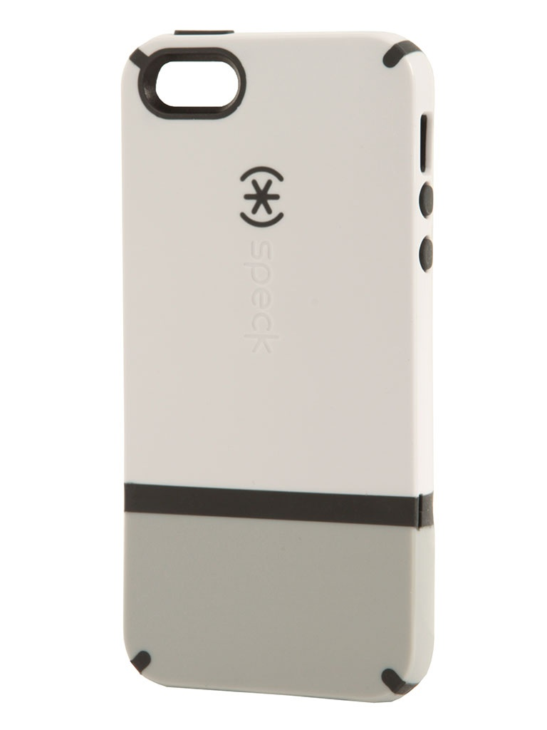 Аксессуар Speck CandyShell for iPhone 5 / 5S Flip White/Pebble Grey/Charcoal SPK-A0660