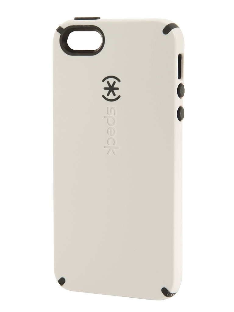 Аксессуар Speck CandyShell for iPhone 5 / 5S White/Charcoal SPK-A0477