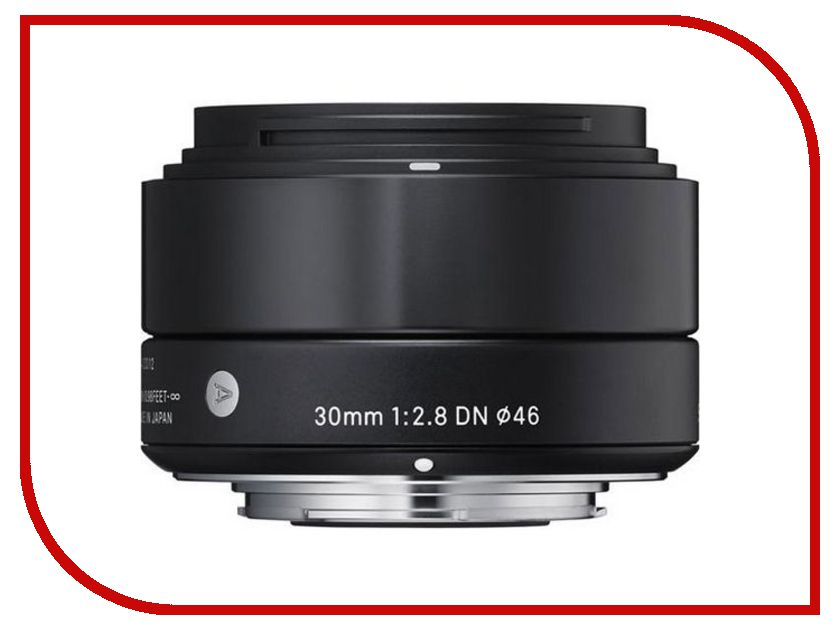 Объектив Sigma Sony E AF 30 mm F/2.8 DN ART for NEX Black