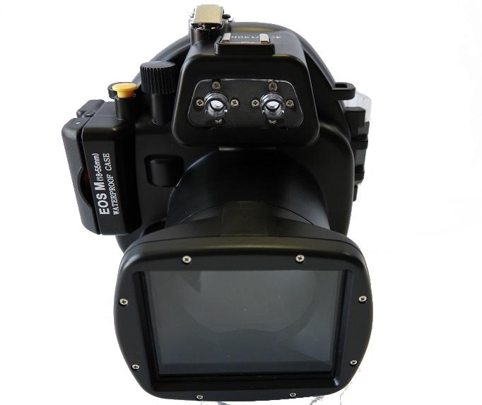 Аквабокс Meikon EOS M для Canon 18-55