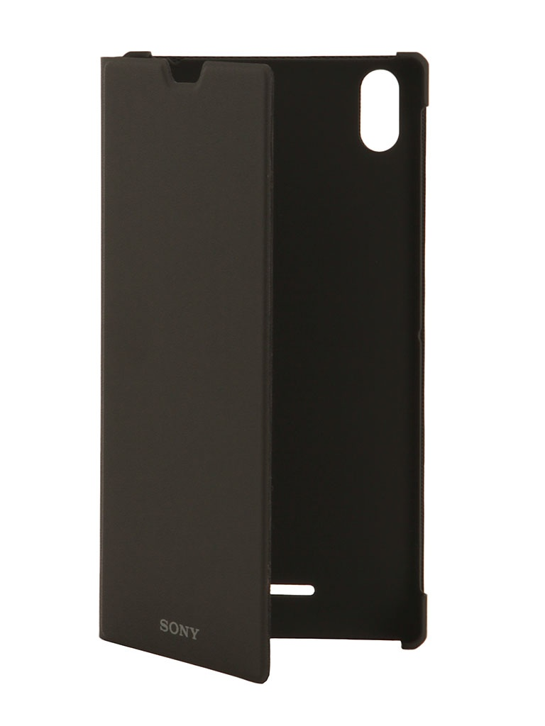Аксессуар Чехол Sony Xperia T3 Style Cover Stand SCR16 Black<br>