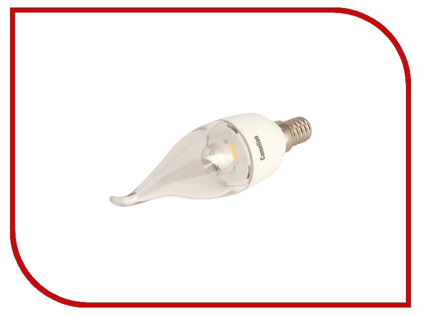 Лампочка Camelion CW35 5.5W 220V E14 4500K 475 Lm LED5.5-CW35-CL/845/E14<br>