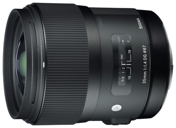 цена на Объектив Sigma Canon AF 35 mm F/1.4 DG HSM ART
