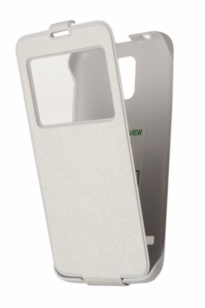 Аксессуар Чехол Samsung Galaxy S5 Anymode ViewCradle White F-DMCC000KWH<br>