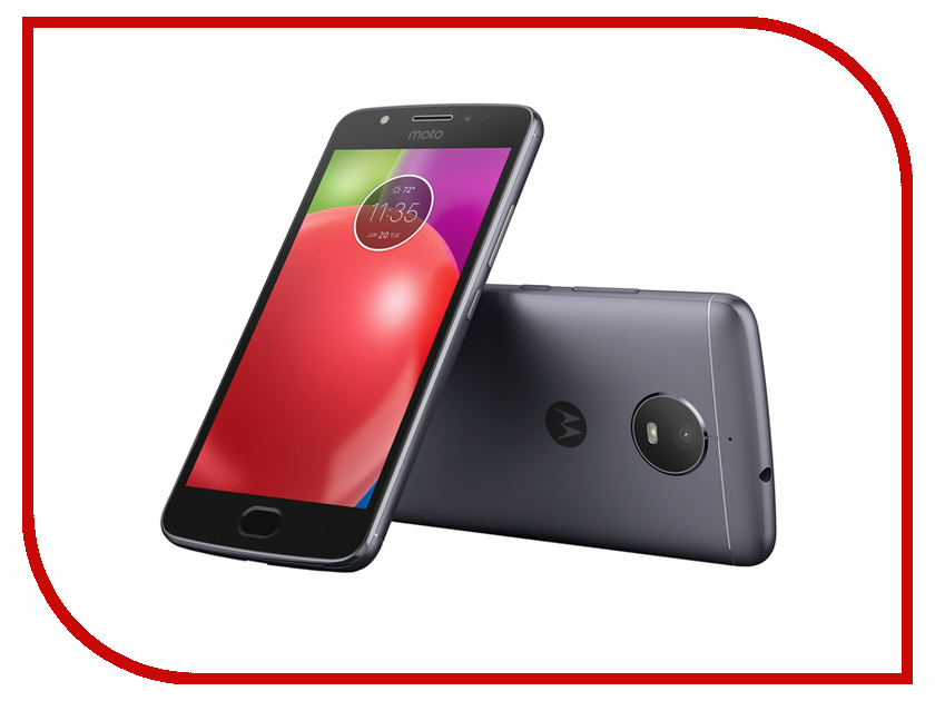 Сотовый телефон Motorola Moto E4 XT1762 Iron Grey 2016 sale rushed 10pcs free dhl ems for motorola moto xt1254 touch digitizer lcd display 100