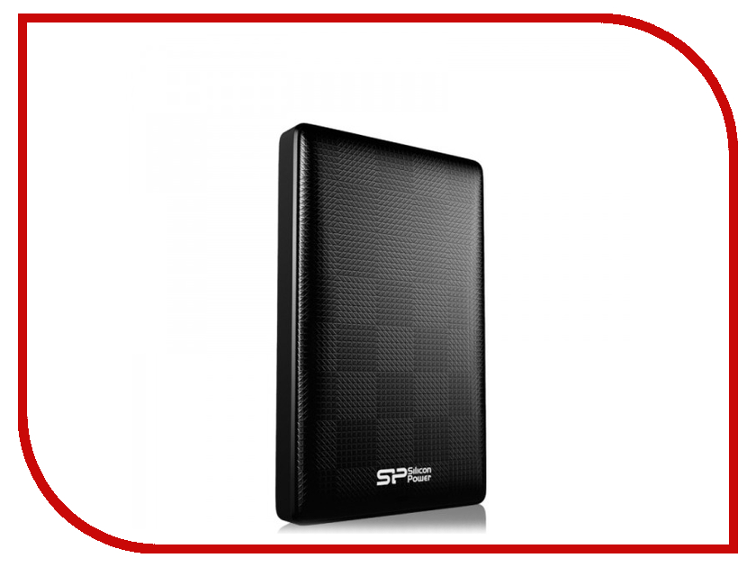 Жесткий диск Silicon Power Diamond D03 2Tb Black SP020TBPHDD03S3K