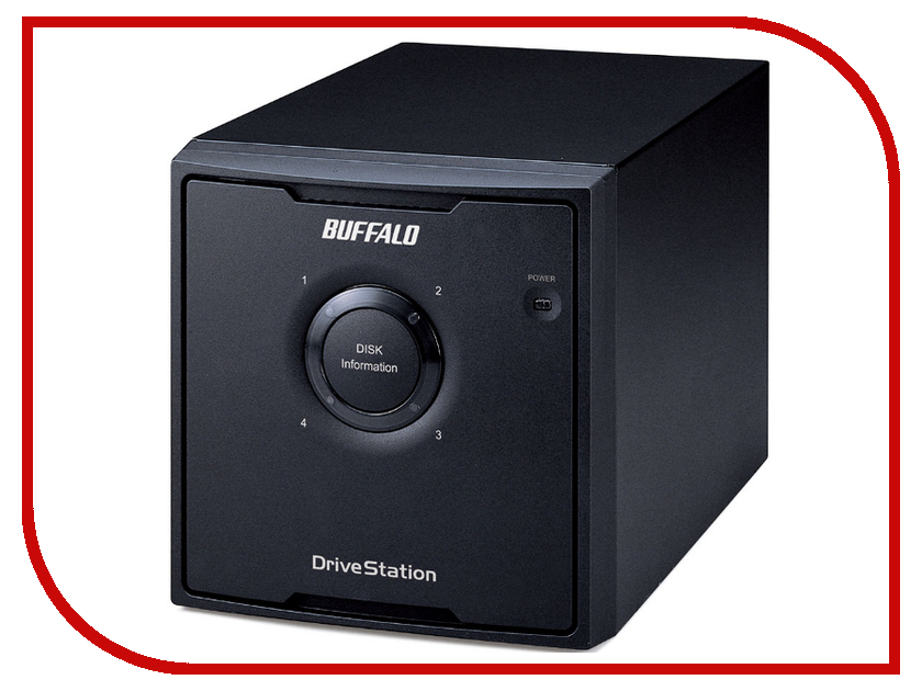 Жесткий диск Buffalo DriveStation Quad 8Tb HD-QL8TU3R5